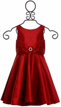 Five Loaves Two Fish Red Girls Dress (Size 2)