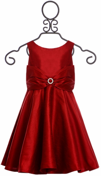Five Loaves Two Fish Red Girls Dress (2 & 3)