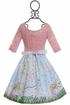 Five Loaves Two Fish Spring Dress for Girls (Size 10) Alternate View