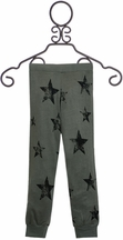 Flowers by Zoe Camo Star Pant (Size LG 10/12)