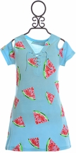 Flowers By Zoe Dress Watermelon (LG 10/12 & XL 12/14)