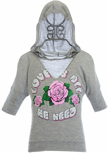 Flowers By Zoe Gray Hoodie Roses SOLD OUT