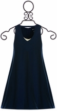 Flowers by Zoe Navy Tween Dress (Size MD 10)