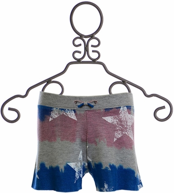 Flowers by Zoe Patriotic Shorts (Size MD 10)
