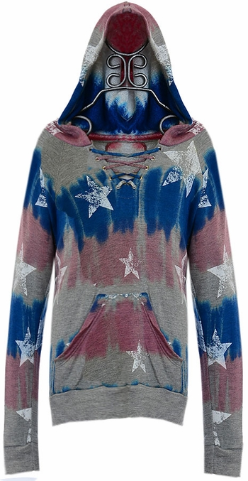 Flowers by Zoe Star Hoodie Tie Dye (SM 7/8 & XL 12/14)