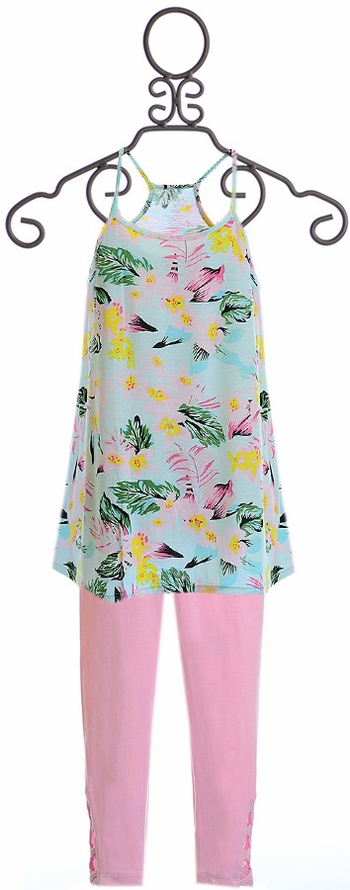 Flowers by Zoe Tunic and Leggings Hawaiian SOLD OUT