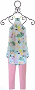 Flowers by Zoe Tunic and Leggings Hawaiian SOLD OUT Alternate View