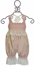 Frilly Frocks Baby Romper Charlotte (Size 1)