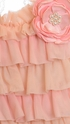 Frilly Frocks Camilla Ruffle Halter and Shorts (Size 5) Alternate View #2