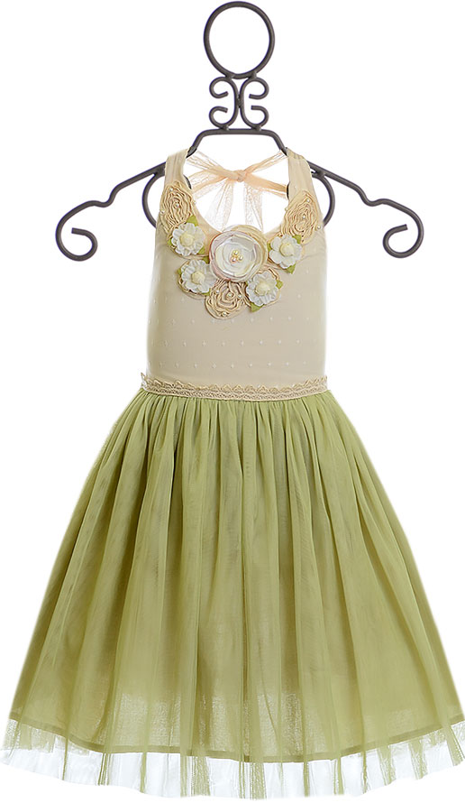Frilly Frocks Gwendolyn Halter Dress Sold Out