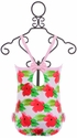 Frou Frou Floral Little Girls Swimsuit (6-12Mos,12-18Mos,3T) Alternate View