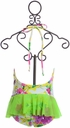 Frou Frou One Piece Swimsuit for Little Girls (6-12Mos,12-18Mos,18-24Mos) Alternate View