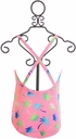 Frou Frou Pink One Piece Swimsuit with Bow (6-12Mos,12-18Mos,18-24Mos) Alternate View