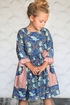 Giggle Moon Brilliant Sapphire Phoebe Dress (Size 12Mos) Alternate View #3