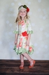 Giggle Moon Hanky Dress with Roses (Size 12Mos) Alternate View #3
