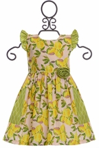 Giggle Moon Lemon Love Dress Phoebe (Size 8)