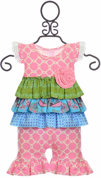 Giggle Moon Shortall Children of Love (Size 18Mos)
