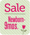 Girls Clothing Sale Newborn to 9 Month