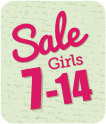 Girls Clothing Sale Size 7-14