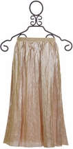 Hannah Banana Girls Metallic Maxi Skirt (Size 14)