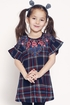 Hannah Banana Plaid Designer Dress Girls (2T & 4T) Alternate View #3