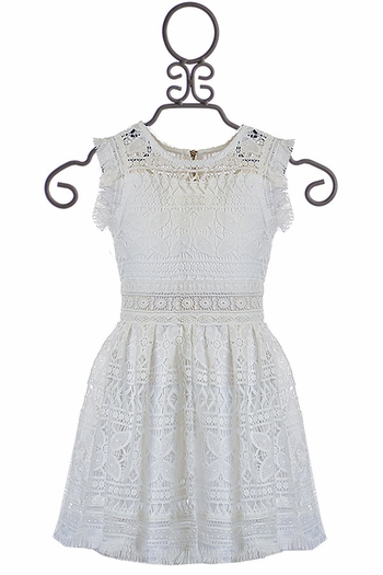 Hannah Banana White Lace Dress SOLD OUT