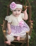 Haute Baby April Dawn Swing Set SOLD OUT Alternate View