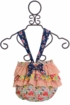 Haute Baby Calypso Sunsuit in Orange (Size 3/6Mos) Alternate View