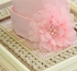 Haute Baby Hat with Pink Pearls and Flowers for Baby Alternate View #3