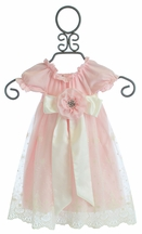 Haute Baby Lacey Rose Baby Gown