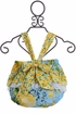 Haute Baby Penelope Romper in Blue and Yellow SOLD OUT Alternate View