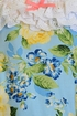 Haute Baby Penelope Romper in Blue and Yellow SOLD OUT Alternate View #2