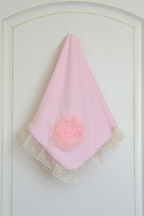 Haute Baby Pink Lullabye Infant Blanket
