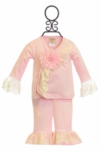 Haute Baby Pink Outfit Chic Petit (Size 0/3Mos)