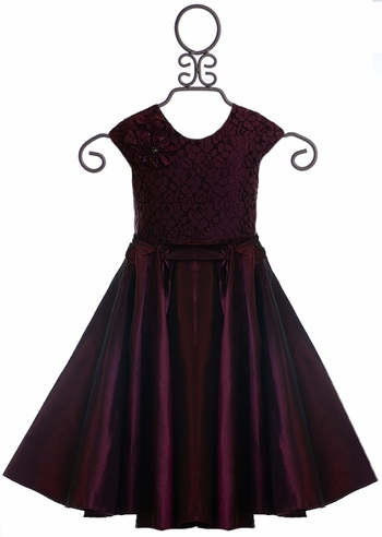 Isobella and Chloe Girls Party Dress in Purple (Size 2T)
