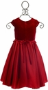 Isobella and Chloe Girls Red Dress (Size 3Mos) Alternate View