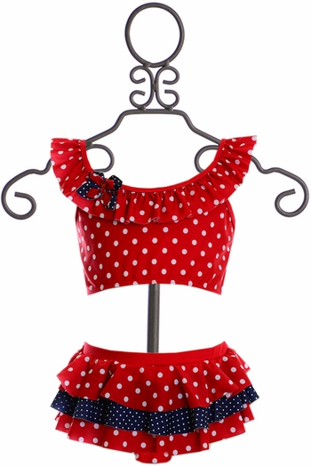 Isobella and Chloe Patriotic Bikini for Girls  SOLD OUT