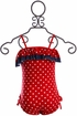 Isobella and Chloe Red White and Blue Swimsuit (Size 5) Alternate View