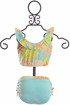 Isobella and Chloe Tropical Bikini for Girls SOLD OUT Alternate View