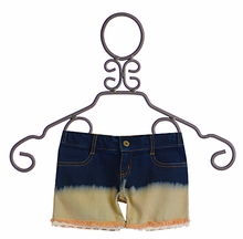 Jak and Peppar Cutoff Shorts for Girls with Lace Trim (Size 16)