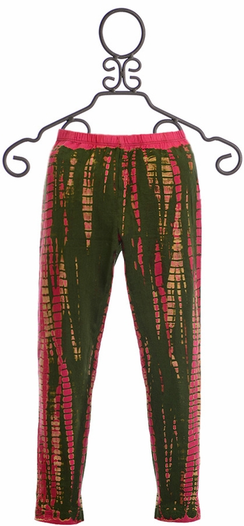 Jak and Peppar Electric Pink Leggings for Girls