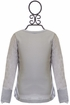Jak and Peppar Girls High End Top in Gray (Size 12Mos) Alternate View #2