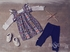 Jak and Peppar Girls High End Top in Gray (Size 12Mos) Alternate View