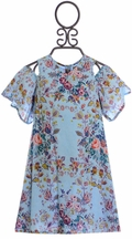 Jak and Peppar Indiana Summer Dress Floral (7 & 14)