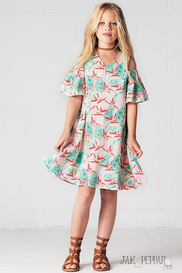 Jak And Peppar Isla Bonita Dress Cecily Get The Look