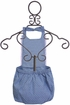 Jak and Peppar Izzy Romper in Chambray (3Mos & 24Mos) Alternate View