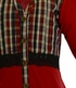 Jak and Peppar Red Plaid Top (Size 2T) Alternate View #2
