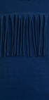 Joah Love Fringe Dress in Blue (Size 2) Alternate View #2