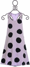 Joah Love Polka Dot Dress in Purple (2 & 3)