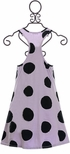 Joah Love Polka Dot Dress in Purple (2 & 3) Alternate View